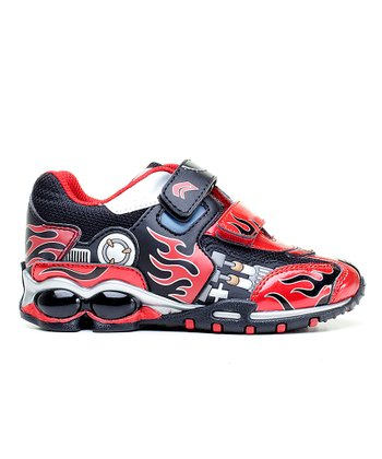 Red & Black Jr. Fighter Sneaker