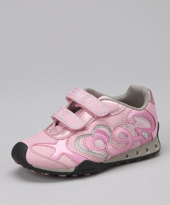 Pink & Dark Pink Jr. New Jocker Sneaker - Kids