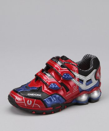 Red & Royal Jr. Fighter 2 Light-Up Shoe