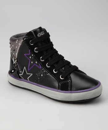 Black Jr. Witty Hi-Top Sneaker