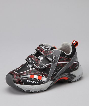 Black & Orange Jr. Stark Sneaker