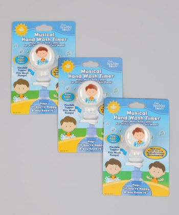 Get Healthy Hands Musical Hand Wash Timer - Set of Three