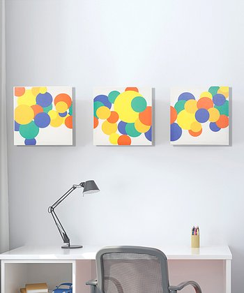 Rusty Bubbles Canvas Set
