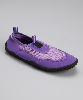 Purple & Lilac Aqua Shoe