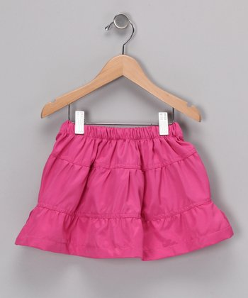 Ginger Hares Pink Twirl Skirt - Infant, Toddler & Girls