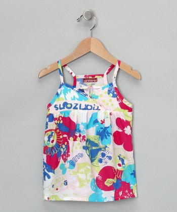 Rosa Surplice Tank - Toddler & Girls