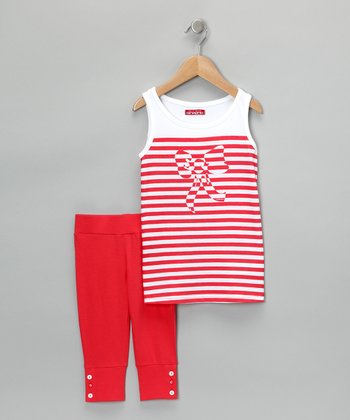 Rojo City Tank & Capri Pants - Toddler & Girls