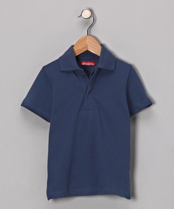 Indigo Danes Polo - Toddler & Boys