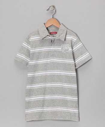 Grisvigor Stripe Polo - Toddler & Boys