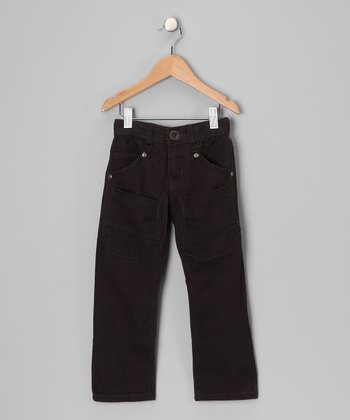 Antracita Pekin Corduroy Pants - Boys