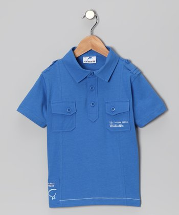 Royal Pocket Polo - Toddler