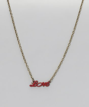 Cherry 'Love' Necklace