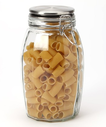 64-Oz. Lock-Tight Faceted Jar