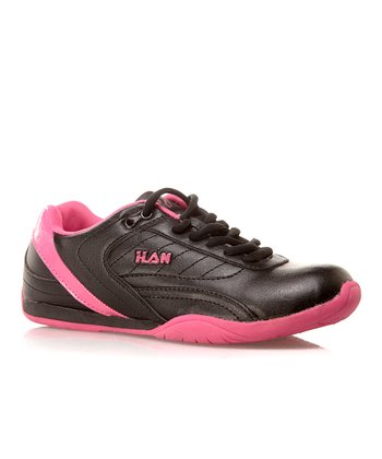 Global Max Black & Hot Pink Sneaker