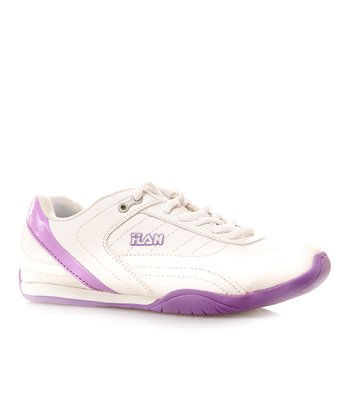 White & Purple Sneaker