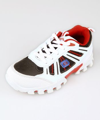 White & Red K622 Sneaker