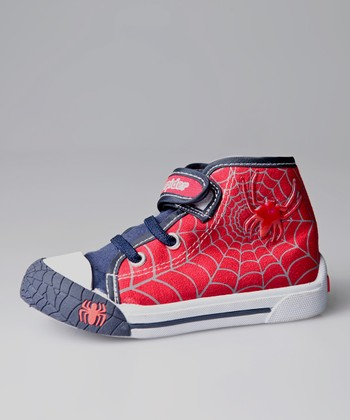 Red Spider Light-Up Hi-Top Sneaker