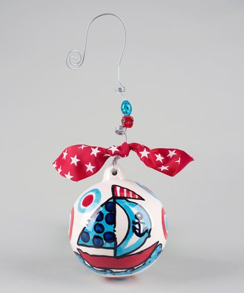 Sailboat Ball Ornament