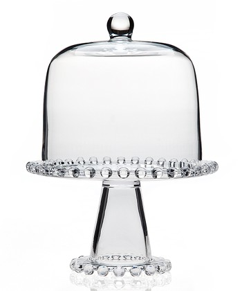 Chesterfield Cake Stand & Dome