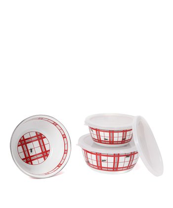 Red Ant Nesting Bowl Set