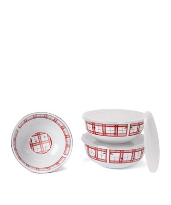 Red Ant Mixing Bowl Set