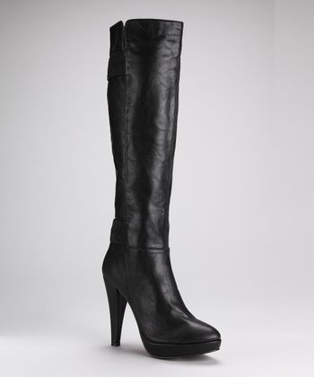 Black Fashion News Boot