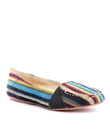 Black & Blue Stripe Twitter 02 Flat
