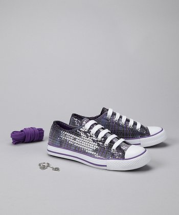 Purple Redding Sneaker - Women
