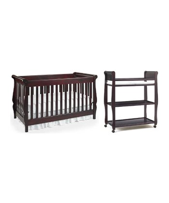 Graco Convertible Crib & Changer 3-Piece Set