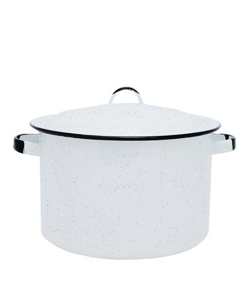 White 11.5-Qt. Stockpot