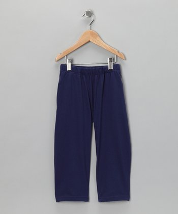 Deep Blue Organic Pants - Toddler & Kids