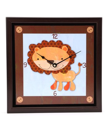 Baby Lion Art Clock
