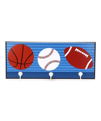 Sport Balls Decorative Wall Hanger