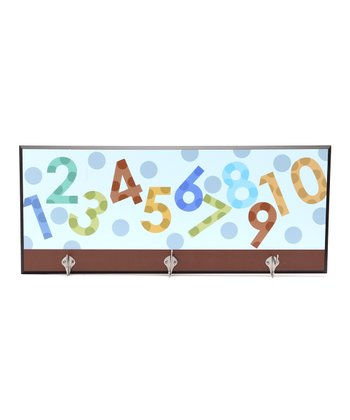 Blue Numbers Decorative Wall Hanger