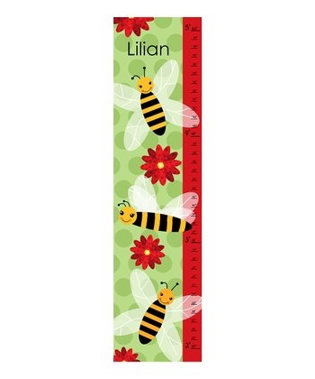 Bees Personalized Growth Chart