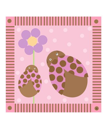 Baby's Ladybugs Canvas