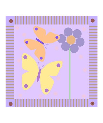 Baby's Butterflies Canvas
