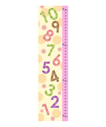 Pink Numbers Growth Chart