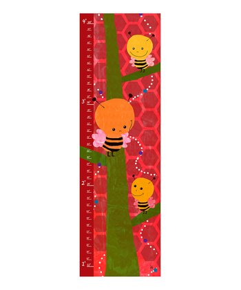 Bees on a Tree Growth Chart