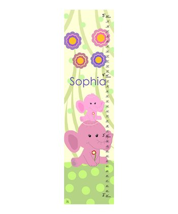 Elephant Personalized Growth Chart