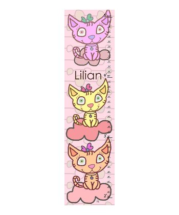 Kittens Personalized Growth Chart