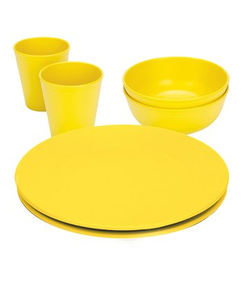 Yellow Dinnerware Set