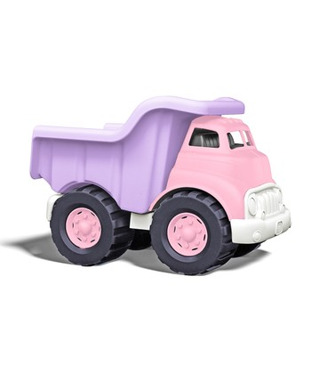 Pink & Purple Recycled Dump Truck