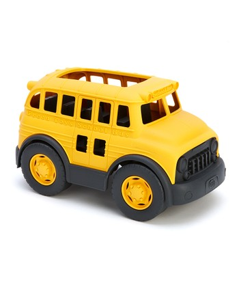 Yellow Recycled School Bus