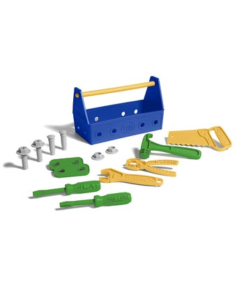 Blue Recycled Tool Set