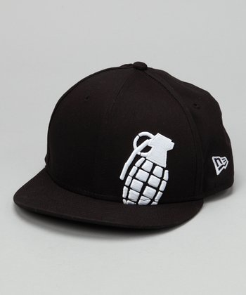Grenade Black New Era Stamp Baseball Hat