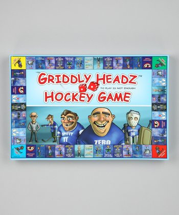 Griddly Headz Hockey Game Family Edition Game