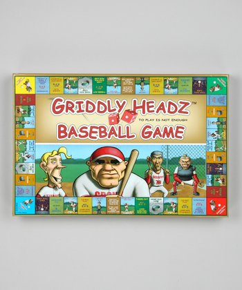 Griddly Headz Baseball Family Edition Game