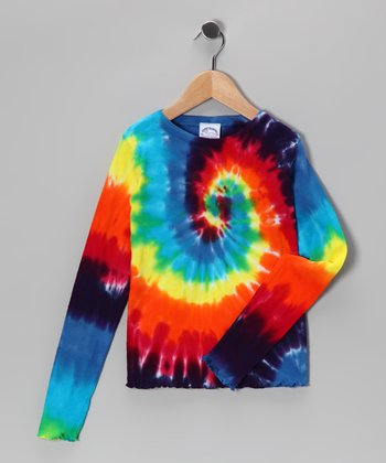 Rainbow Swirl Tee - Toddler & Girls