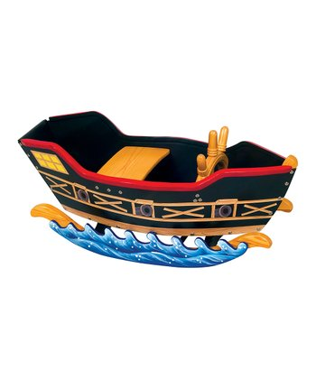 Pirate Ship Retro Rocker